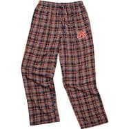 Auburn Tigers Navy Empire Flannel Pants