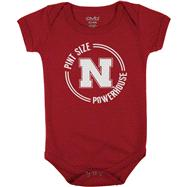 Nebraska Cornhuskers Infant Red Powerhouse Pint Creeper
