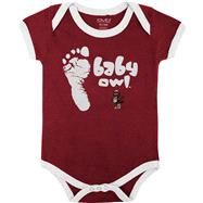 Temple Owls Infant Crimson Construction Site Creeper