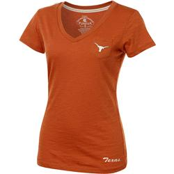 Texas Longhorns Women's Burnt Orange Vision V-Neck T-Shirt