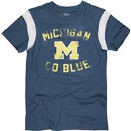 Michigan Wolverines Youth Navy The Wild T-Shirt