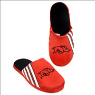 Arkansas Razorbacks Hard Sole Stripe Slipper