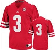 Nebraska Cornhuskers adidas 2012 Red Youth Premier Football Jersey
