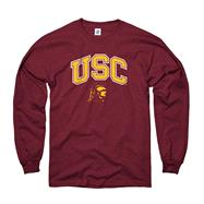 USC Trojans Youth Cardinal Perennial II Long Sleeve T-Shirt