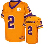 Clemson Tigers Orange Kids 4-7 Stadium II Football Jersey