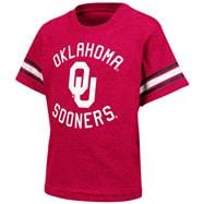 Oklahoma Sooners Cardinal Toddler Receiver T-Shirt