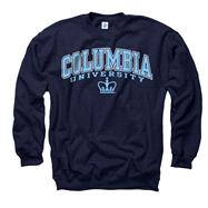 Columbia Lions Youth Navy Perennial II Crewneck Sweatshirt