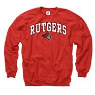 Rutgers Scarlet Knights Youth Red Perennial II Crewneck Sweatshirt