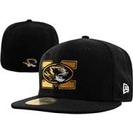 Missouri Tigers New Era 59FIFTY Basic Fitted Hat