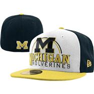 Michigan Wolverines New Era 59FIFTY Deluxe City Fitted Hat