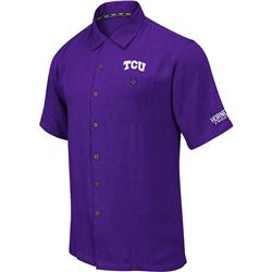 TCU Horned Frogs Bermuda Camp Shirt