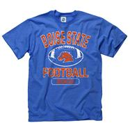 Boise State Broncos Youth Royal Jock Football T-Shirt