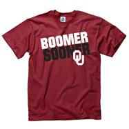 Oklahoma Sooners Cardinal Youth Slogan T-Shirt