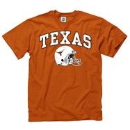 Texas Longhorns Dark Orange Football Helmet T-Shirt