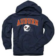 Auburn Tigers Youth Navy Football Helmet Hooded Sweatshirt