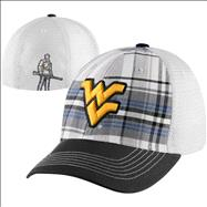 West Virginia Mountaineers Scholastic Washed Mesh Back Stretch Fit Hat