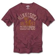 Minnesota Golden Gophers '47 Brand Vintage Scrum Tee