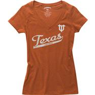 Texas Longhorns Women's '47 Brand V-neck T-Shirt