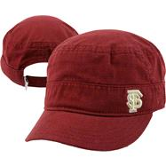 Florida State Seminoles Women's New Era Military Adjustable Strapback Hat