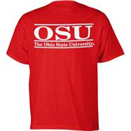 Ohio State Buckeyes Red The Bar T-Shirt from The Game