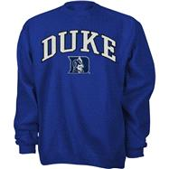 Duke Blue Devils Royal Tackle Twill Crewneck Sweatshirt