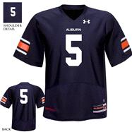 Auburn Tigers Navy Under Armour Performance 2011 Replica Football Jersey: Auburn Tigers # Football Jersey