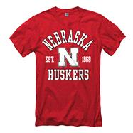 Nebraska Cornhuskers Red Every Fan Ring Spun T-Shirt