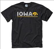 Iowa Hawkeyes Black Retrospective T-Shirt
