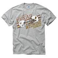 Texas Longhorns vs Wyoming Cowboys Stance T-Shirt