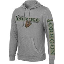 Oregon Ducks Colt Slub Knit Hooded Sweatshirt