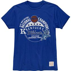 Kentucky Wildcats Retro Brand Vintage 1978 College Basketball National Champions T-Shirt