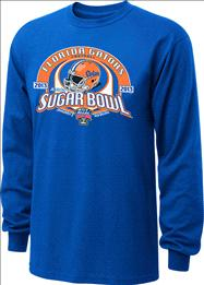 Florida Gators 2013 Sugar Bowl Bound Long Sleeve T-Shirt