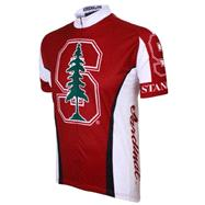 Stanford Cardinal Short Sleeve Cycling Jersey