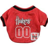 Nebraska Cornhuskers Mesh Dog Jersey