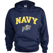 Navy Midshipmen Kids/Youth Perennial Hooded Sweatshirt