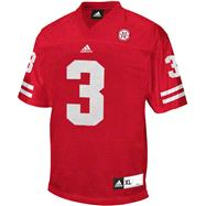 Nebraska Cornhuskers adidas Red Big Ten Chase Jersey