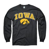 Iowa Hawkeyes Black Perennial II Long Sleeve T-Shirt