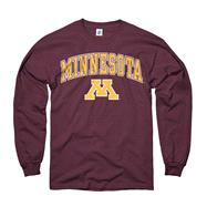 Minnesota Golden Gophers Maroon Perennial II Long Sleeve T-Shirt