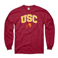 USC Trojans Cardinal Perennial II Long Sleeve T-Shirt
