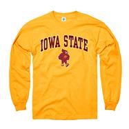 Iowa State Cyclones Gold Perennial II Long Sleeve T-Shirt