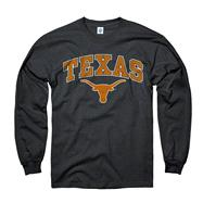 Texas Longhorns Black Perennial II Long Sleeve T-Shirt
