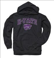 Kansas State Wildcats Black Perennial II Hooded Sweatshirt