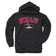 UNLV Runnin Rebels Black Perennial II Hooded Sweatshirt