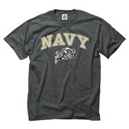 Navy Midshipmen Dark Heather Perennial II T-Shirt