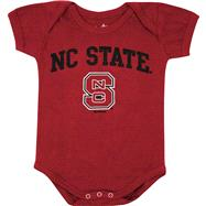 North Carolina State Wolfpack Newborn/Infant Red Big Fan Creeper