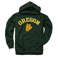 Oregon Ducks Youth Dark Green Perennial II Hooded Sweatshirt