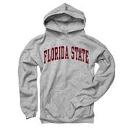 Florida State Seminoles Youth Grey Arch Hooded Sweatshirt
