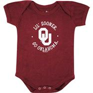 Oklahoma Sooners Newborn / Infant Cardinal Lil' Mascot Creeper