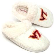 Virginia Tech Hokies Youth Girls Missy Knit Slipper