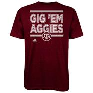 Texas A&M Aggies Maroon adidas Announcement T-Shirt